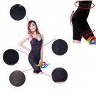 3 in 1 Hip Training/Slimming Legs/Body Shaping Grenadine Pants Socks for Woman-Black 17229