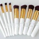 Wood Handle Makeup Brushes Set (10 Pieces) - 4030000