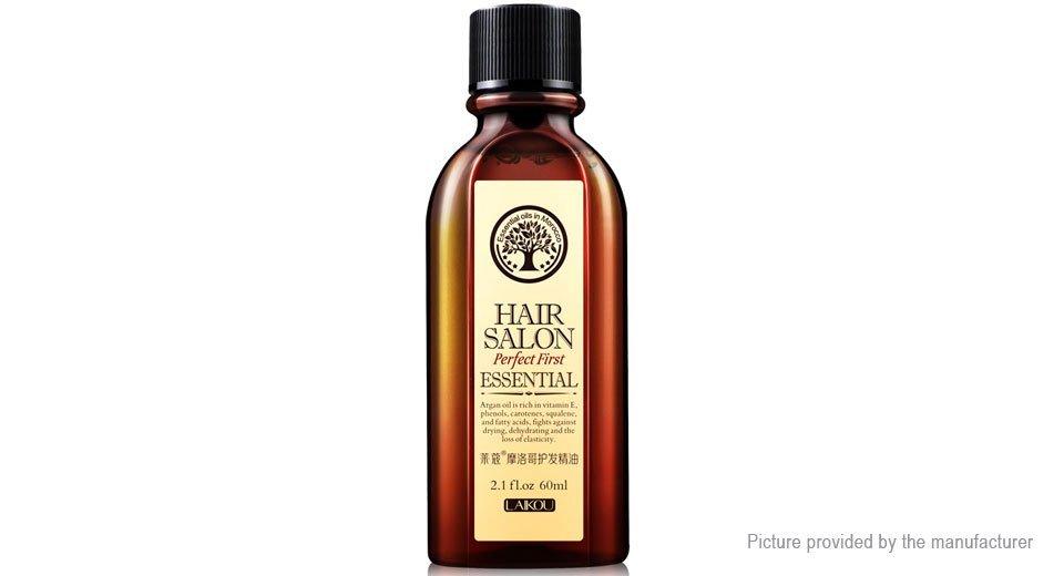 LAIKOU Moroccan Pure Argan Oil Hair Essence for Dry Scalp Hairs Treatment (60ml) - 5124800