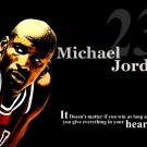 Michael Jordan Quote Basketball Legend 16x12 Print Poster