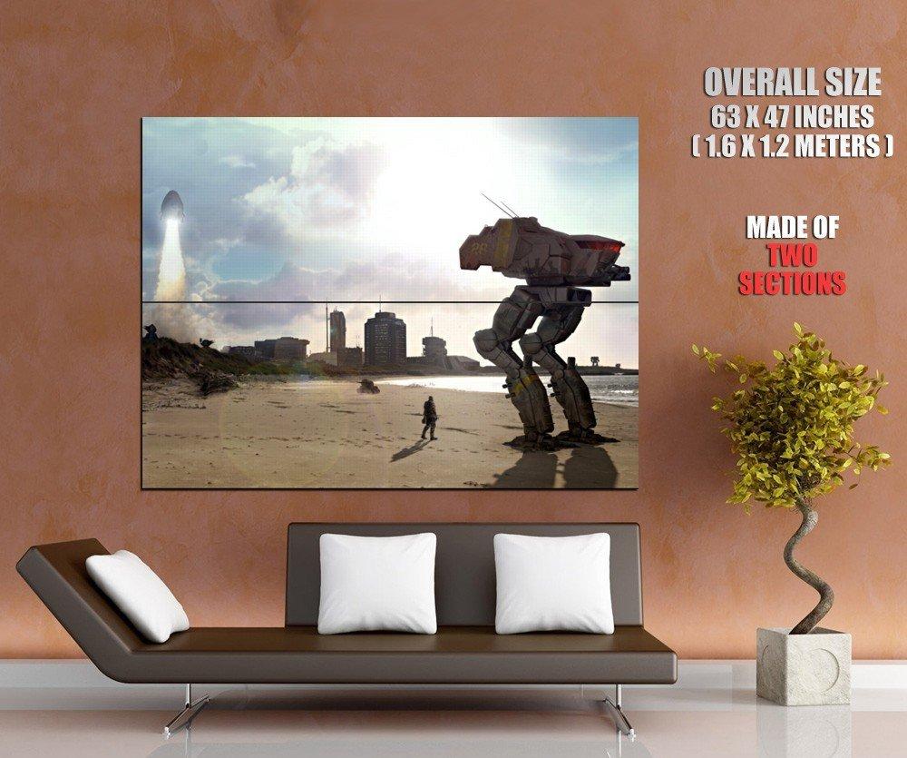 Mechwarrior Online Battletech Cicada Art HUGE GIANT Print Poster