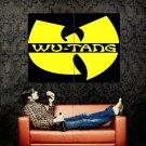 Wu Tang Clan Logo Hip Hop Rap Music Huge 47x35 Print POSTER