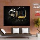 Daft Punk Helmets Music Huge Giant Print Poster