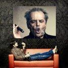 Jack Nicholson Cigar Smoke Ring Legendary Actor Huge 47x35 POSTER