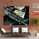 Sig Sg 552 Weapon Money Bag Huge Giant Print Poster