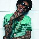 Wiz Khalifa Hip Hop Music Singer 32x24 Print Poster