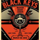 Shepard Fairey Black Keys New York R 32x24 Print POSTER