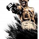 City Of God Movie Art Gun 16x12 Print Poster