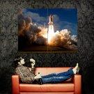 Space Shuttle Atlantis Launch Huge 47x35 Print POSTER