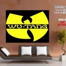 Wu Tang Clan Logo Hip Hop Rap Music Huge Giant Print Poster