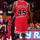 Michael Jordan 45 Jersey Rare Chicago Bulls NBA Basketball 24x18 POSTER