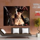 Assassin S Creed Black Flag Hot Pirate Girl HUGE GIANT Print Poster