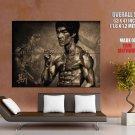 Bruce Lee Actor Tang Shan Da Xiong Huge Giant Print Poster