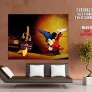 Mickey Mouse Fantasia Disney Art HUGE GIANT Print Poster