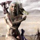Game Of Thrones Daenerys Targaryen TV Series 16x12 Print Poster