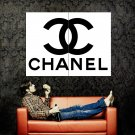 Chanel Logo Fashion Icon Art Huge 47x35 Print Poster