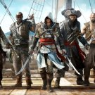 Assassin S Creed 4 Black Flag Pirates 16x12 Print Poster