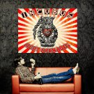 Incubus Light Grenades Art Huge 47x35 Print Poster