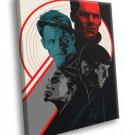 Star Trek Into Darkness Movie Cast Amazing Art 50x40 Framed Canvas Print