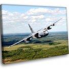 Bomber Plane US Airforce 30x20 Framed Canvas Art Print