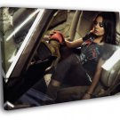 Mila Kunis Car Boots Amazing Hot Sexy Rare 30x20 Framed Canvas Print