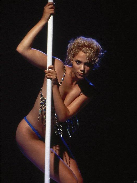 Elizabeth Berkley Hot Actress Showgirls Pole Dancing Stripper 16x12 Wall Print P