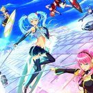 Vocaloid Girls Characters Anime Manga Art 32x24 Wall Print POSTER
