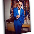 Panic At The Disco Brendon Urie Panic Music 40x30 Framed Canvas Print
