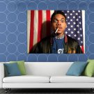 Chance The Rapper Flag Rap Hip Hop Music HUGE 48x36 Print POSTER