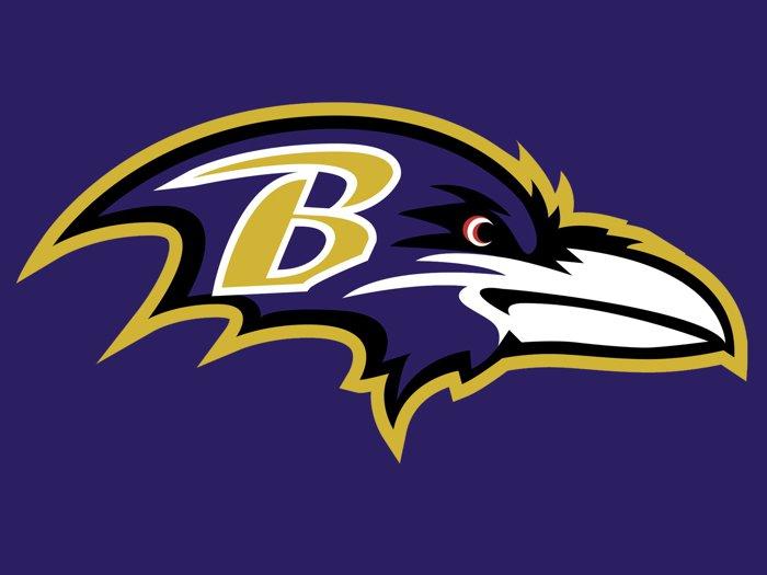 Baltimore Ravens Football Logo Hockey Sport Art 16x12 Print Poster