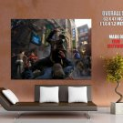 Watch Dogs Aiden Pearce Video Game Art Giant Huge Print Poster