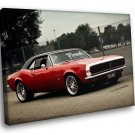 Chevrolet Camaro Chevy American Muscle Car 30x20 Framed Canvas Art Print