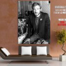 Harrison Ford Young Handsome Amazing BW Portrait Rare GIANT Huge Print Poster