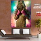 Ronda Rousey Martial Arts MMA Hot Naked Body Giant Huge Wall Print Poster
