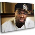 50 Cent Street King Immortal Album Music 30x20 Framed Canvas Art Print