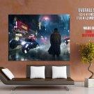 Blade Runner Art Cyberpunk Movie Rick Deckard Giant Huge Print Poster