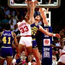 Mark Eaton Block Utah Jazz Retro Basketball Sport 16x12 Print POSTER