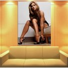 Carmen Electra Glamour Model Sexy Girl Topless 47x35 Print Poster