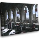 Assassins Creed Altair And Adha Awesome Art 50x40 Framed Canvas Print