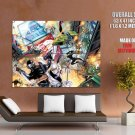 G I Joe Vs Cobra Battle Amazing Art GIANT Huge Print Poster