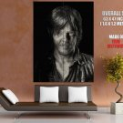 Daryl Dixon Norman Reedus Drawing Art Portrait Giant Huge Print Poster