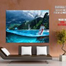 Far Cry 3 Beautiful Landscape Knife Water Game Art Giant Huge Print Poster