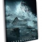 Interstellar Christopher Nolan 2014 Movie 30x20 Framed Canvas Print