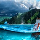 Far Cry 3 Beautiful Landscape Knife Water Game Art 24x18 Print Poster
