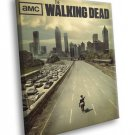 The Walking Dead TV Series 50x40 Framed Canvas Print