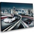 Porsche Cayman Beltway Sport Car 50x40 Framed Canvas Art Print