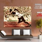 Jesse Owens Legend Ser Athlete Sport Giant Huge Print Poster