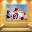 Mike Trout Los Angeles Angels Of Anaheim Baseball Huge Giant Print Poster