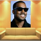 Kanye West Smile Portrait Hip Hop Rap Music Rare Huge Giant Print Poster