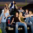 Friday Night Lights TV Series Cast Gaius Charles Adrianne Palicki 16x12 Wall Pri